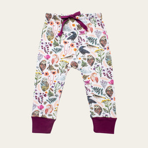Drawstring Pants - Dream Birds