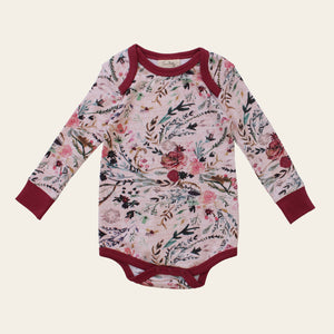 Organic Baby Bodysuit - Fable Floral