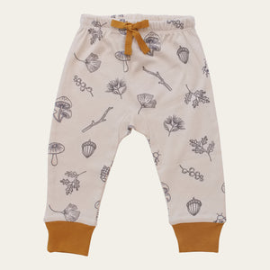 Organic Cotton Baby Pants - Nature Walk