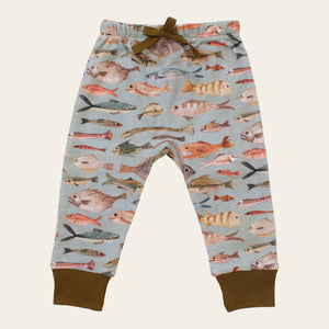 Organic Baby Pants - NZ Fish