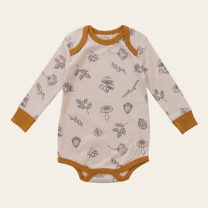 Organic Long Sleeve Onesie - Nature Walk