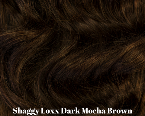 Dark Mocha brown brunette remy hair clip in extensions