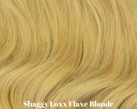 Flaxen Blonde pale cool blonde clip in hair extensions