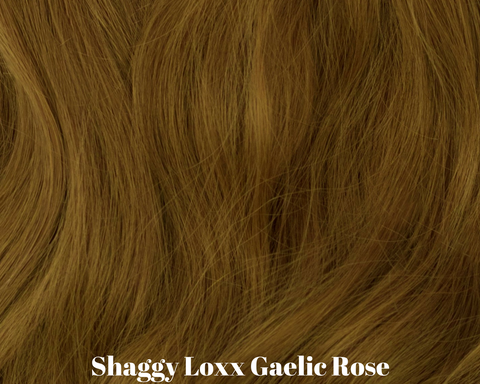 Gaelic Rose true red head clip in hair extensions
