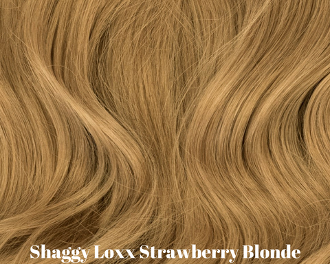 Strawberry Blonde medium clip on hair extensions