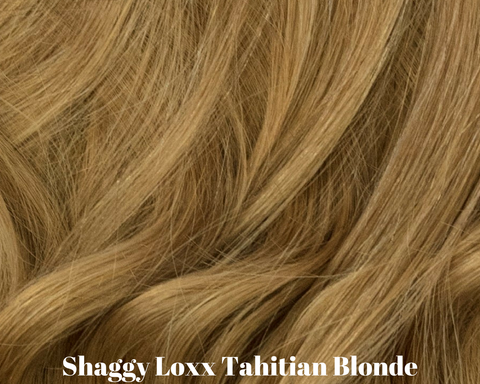 Tahitian Blonde medium ash blonde remy clip in hair extensions
