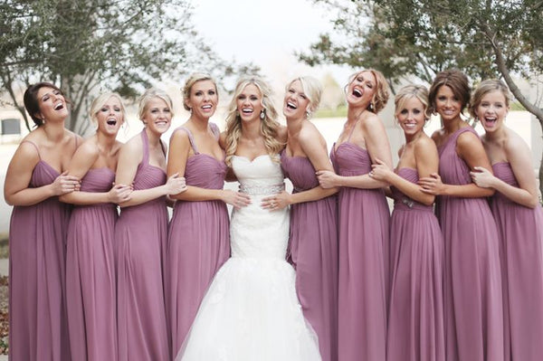 choosing bridesmaids hairstyles