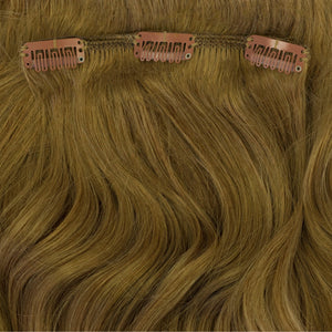 golden blonde hair extensions clip in