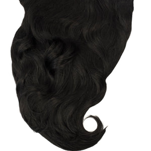 "14"" 140 Grams Ravenna Black Clip in Hair Extensions"