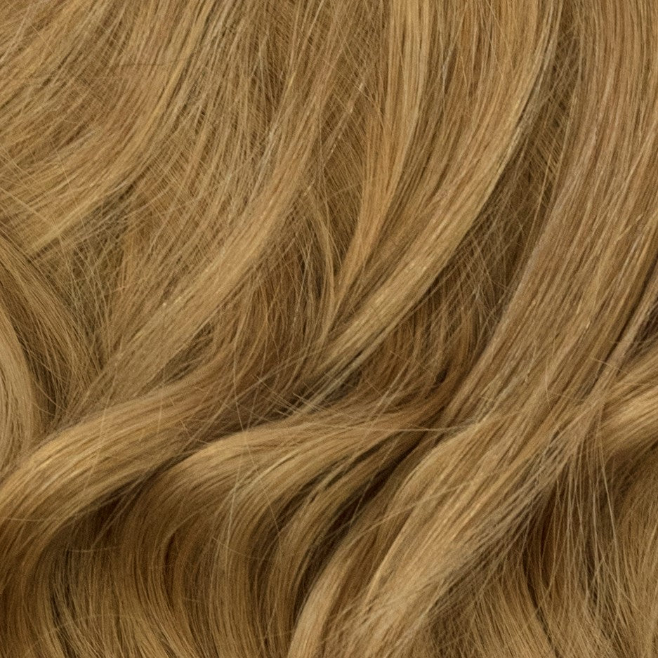 dark ash blonde remy clip-in hair extensions