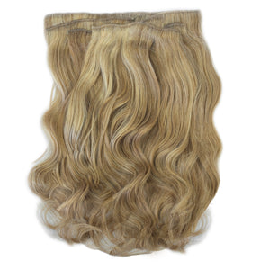 clip in hair extensions blonde highlights
