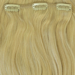 long bright blonde extentions