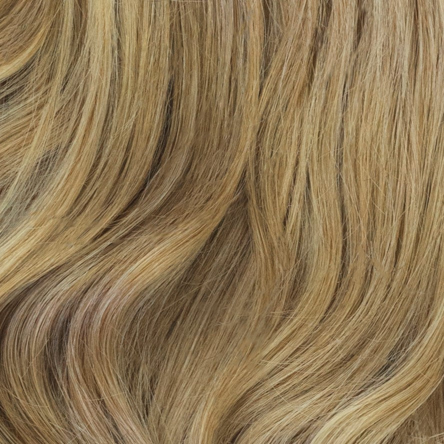 dark blonde human hair extensions