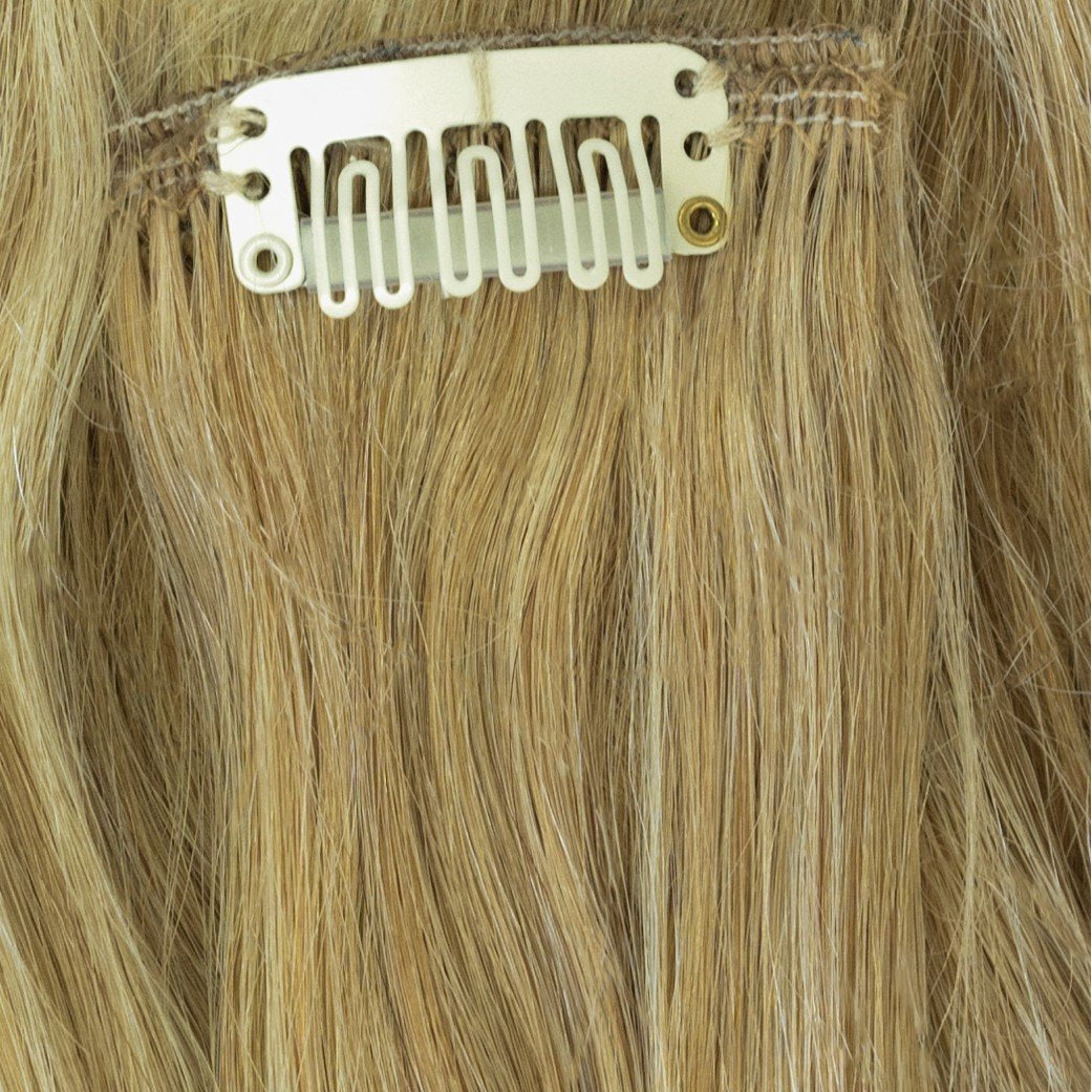 highlighted remy human hair extensions clip-in