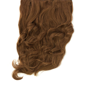 light red remy clip in human hair extensions