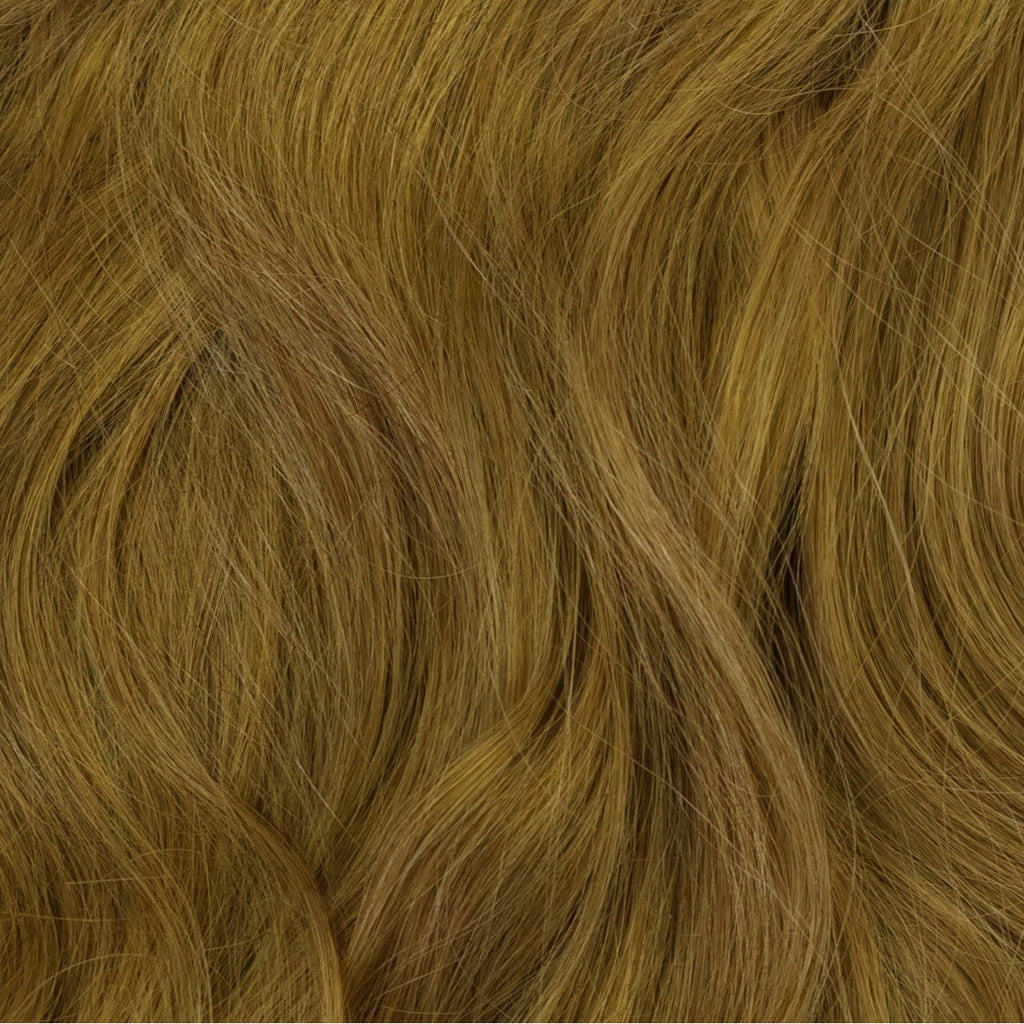 dark blonde human hair extensions clip in