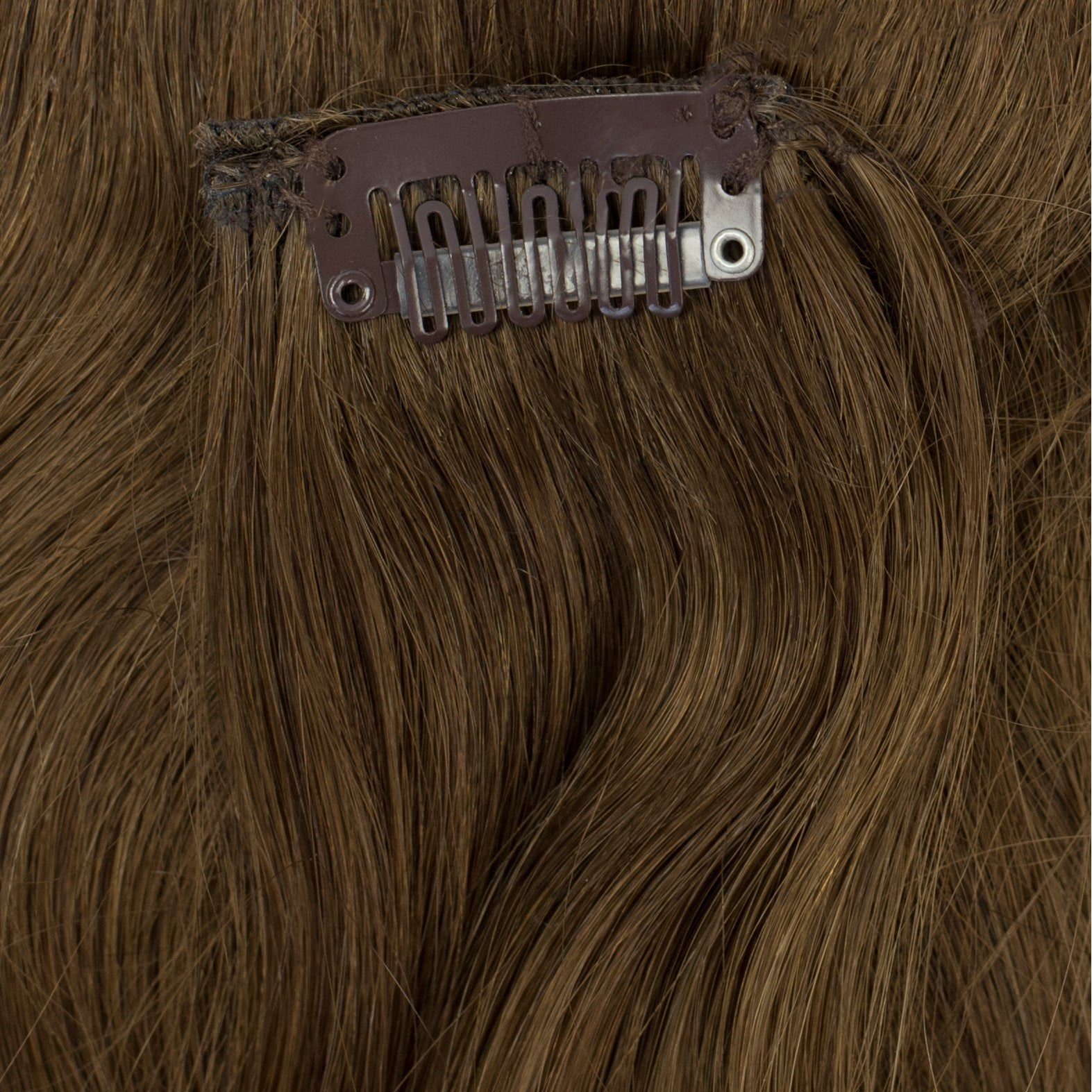 brown extensions shaggy loxx clip-in