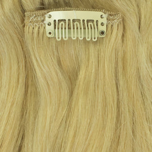 platinum extensions remy human hair clip in