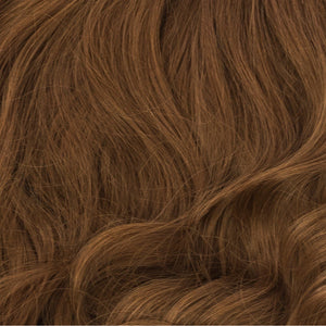 medium burgundy clip-in hair extensions