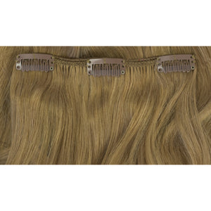 beautiful long blonde medium clip in hair extensions