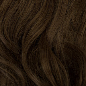 brown hair extensions clip in
