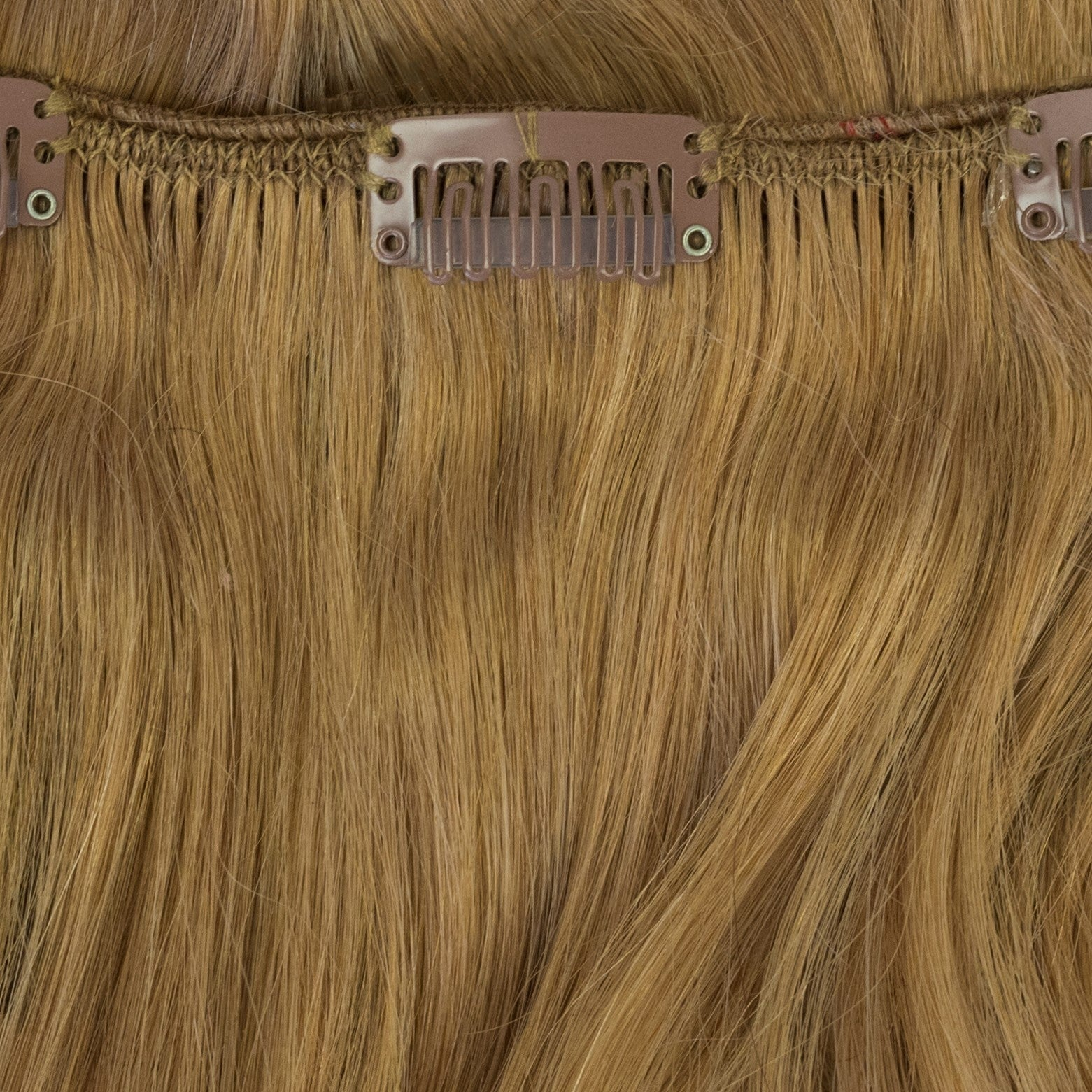 strawberry gold blonde hair extensions clip-in