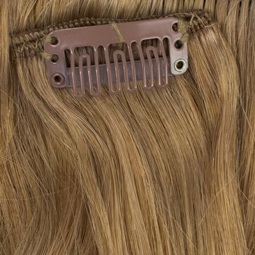 strawberry golden blonde remy hair extensions