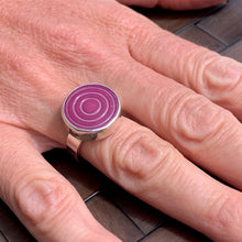 Purple Power Ring