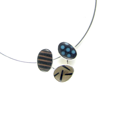 Triple Pebble Pendant
