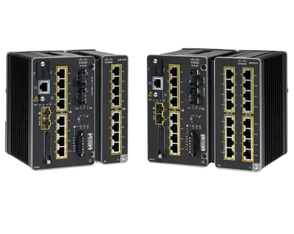 Cisco Industrial Ethernet 3400 Series Switches
