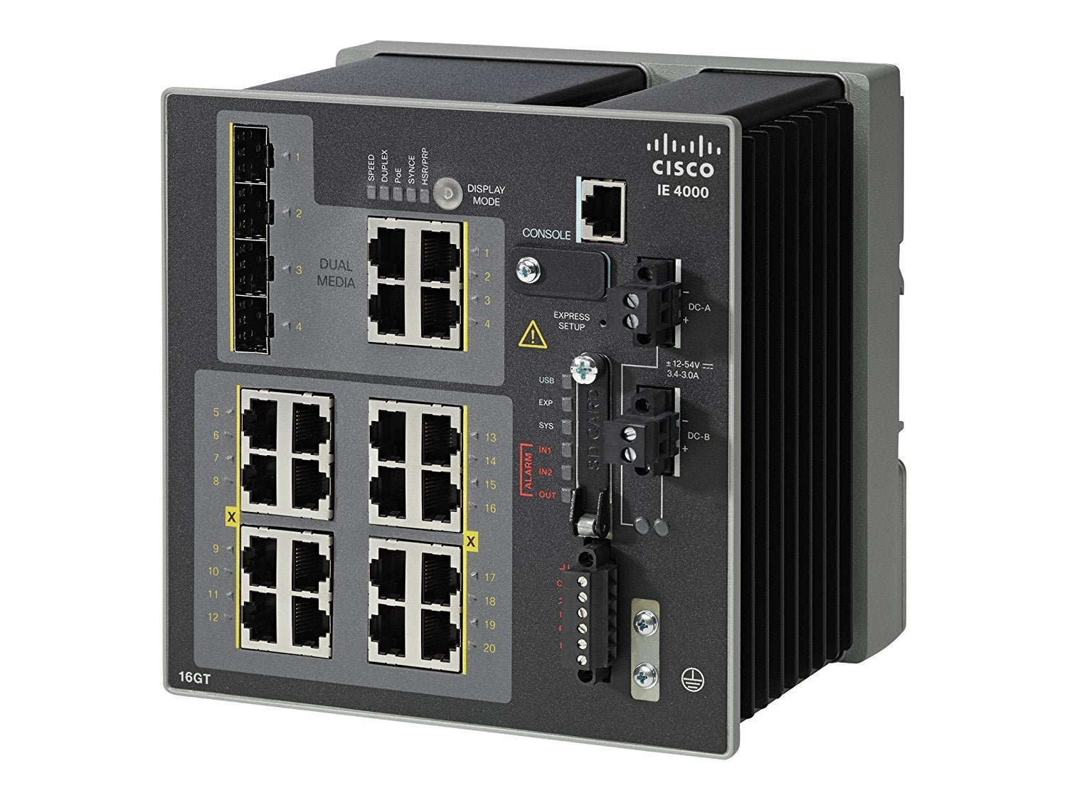 Cisco Industrial Ethernet 4000 Series Switches