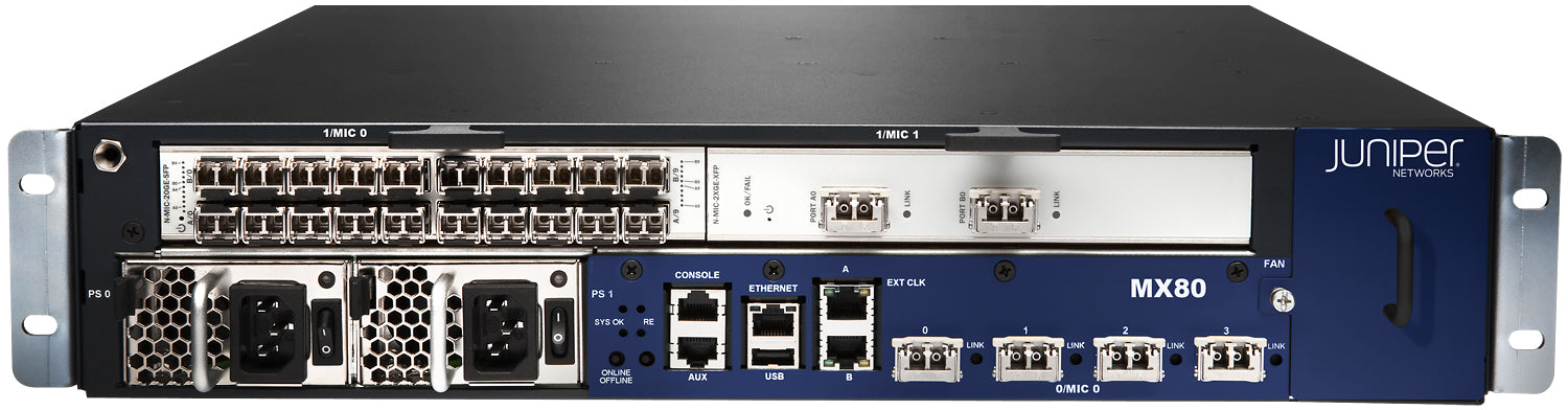 Juniper MX80 Routers
