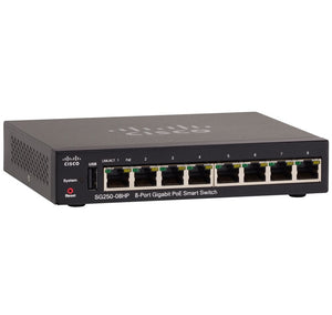 Cisco SG250-08HP-K9 Switch - Network Devices Inc.