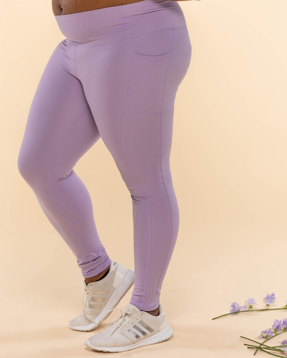 All Day Leggings - Lavender