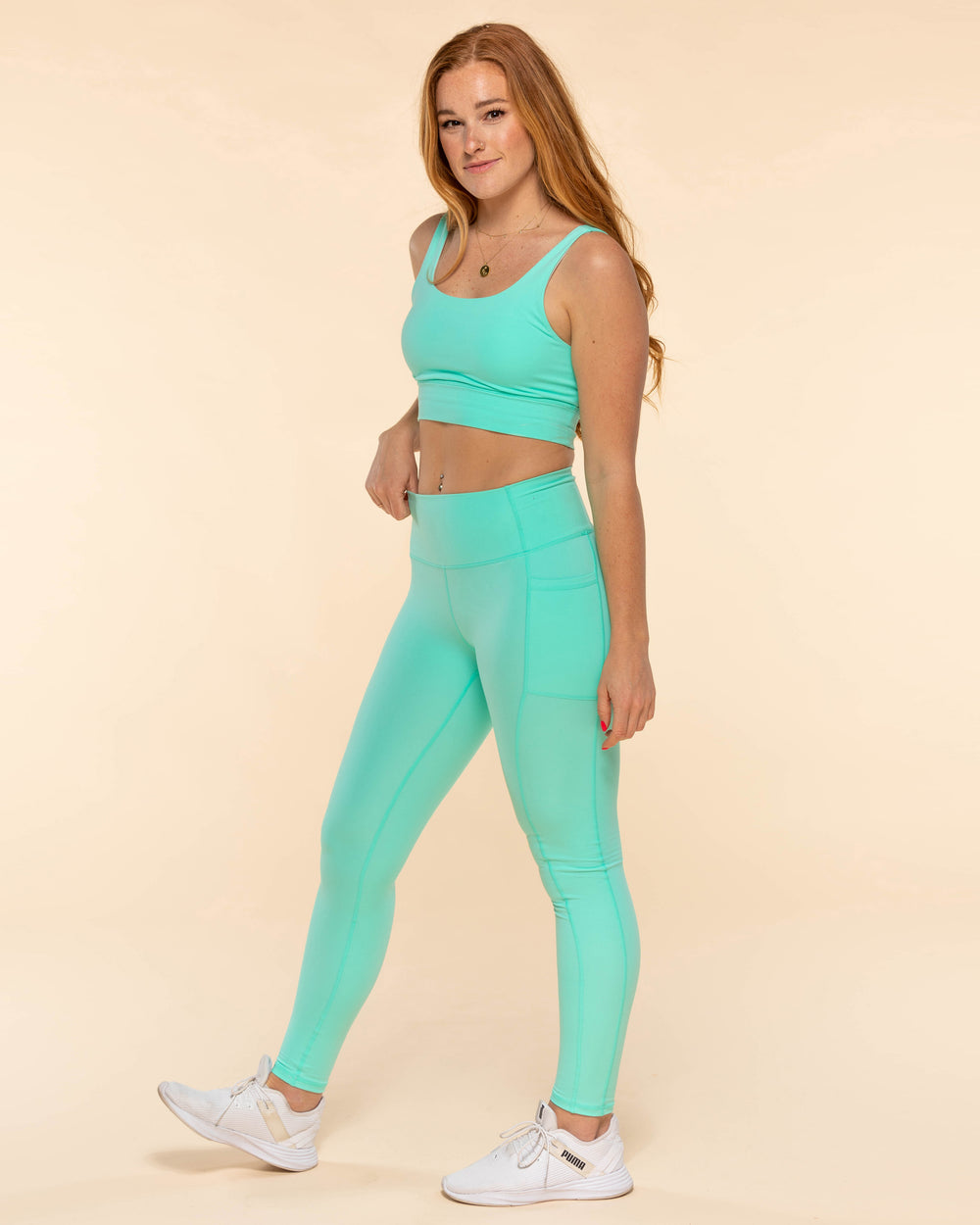 All Day Leggings - Seafoam