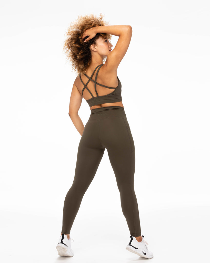 All Day Leggings - Olive