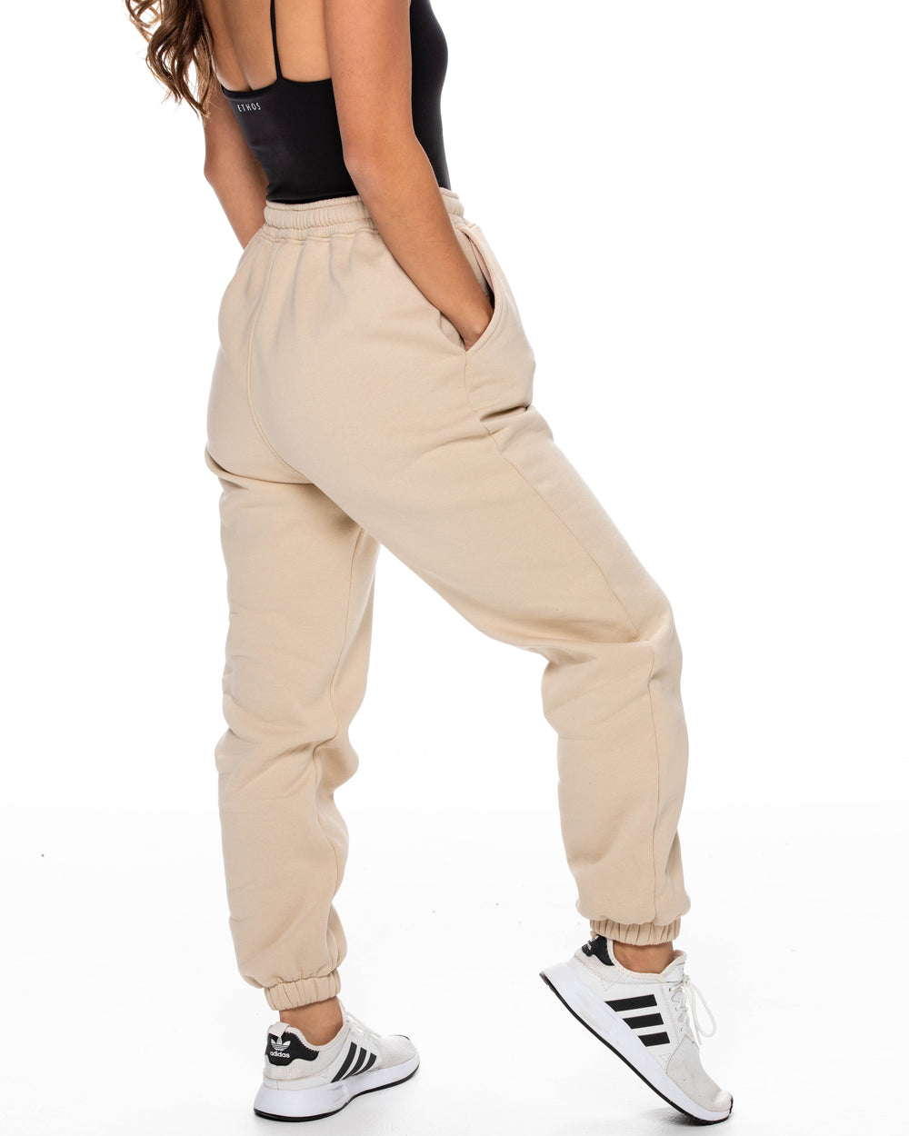 Oversized Sweats - Sand