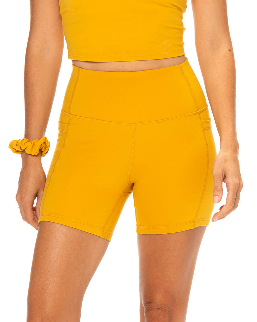 All Day Shorts - Butterscotch