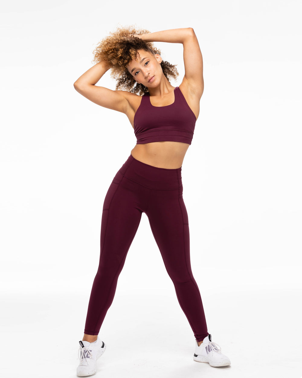 All Day Leggings - Plum