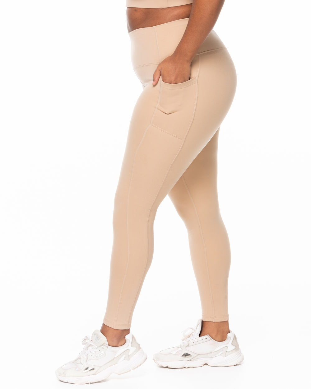 All Day Leggings - Biscotti