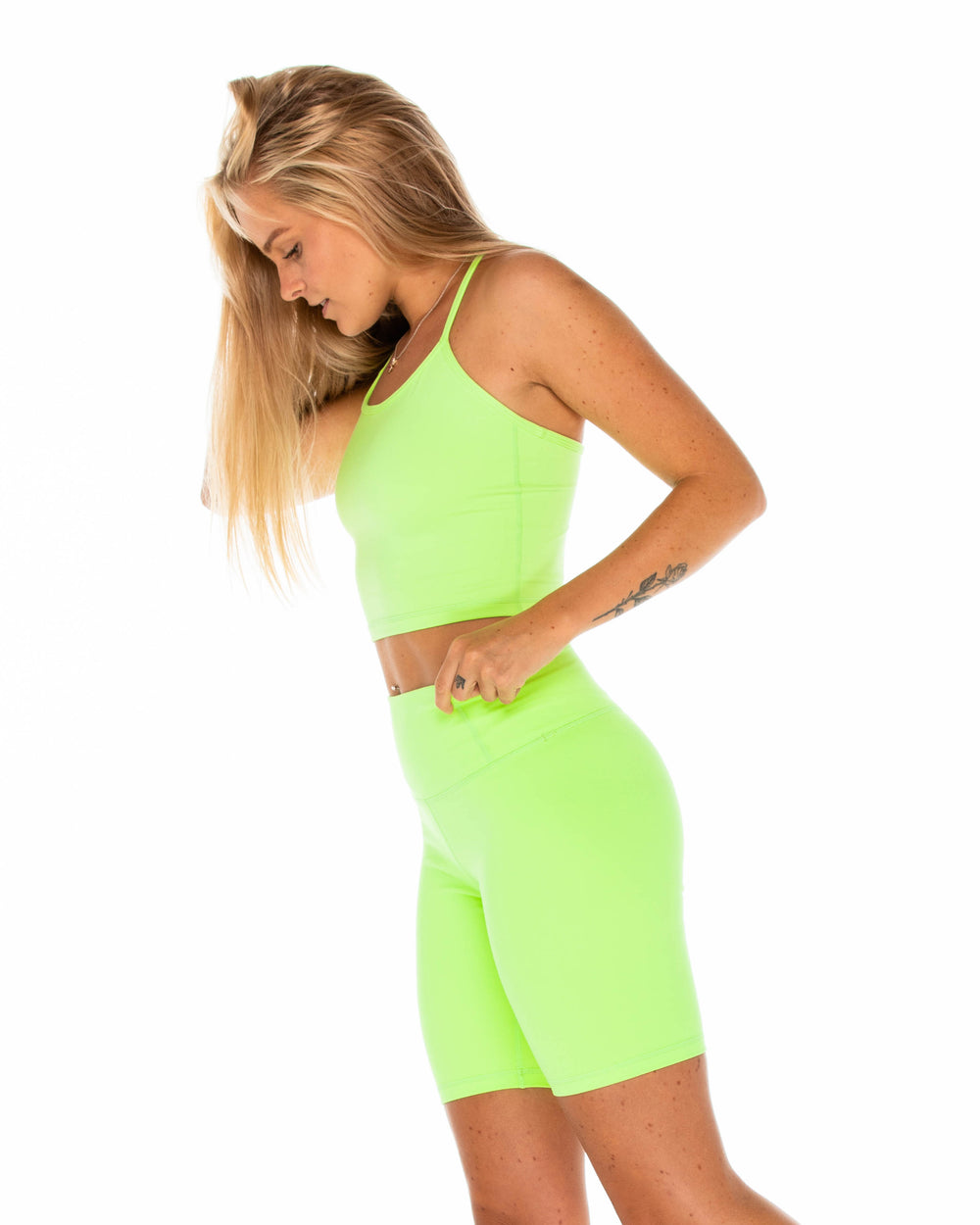 Magic Tank - Cropped - Lime