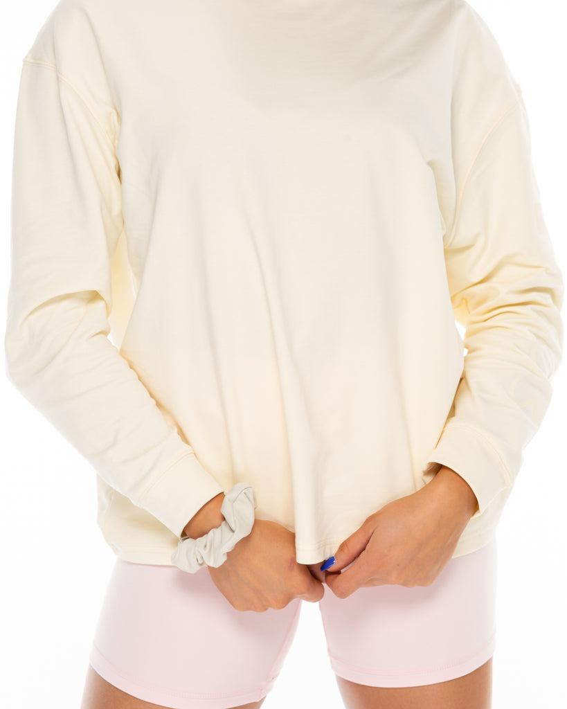Boyfriend Long Sleeve - Vanilla