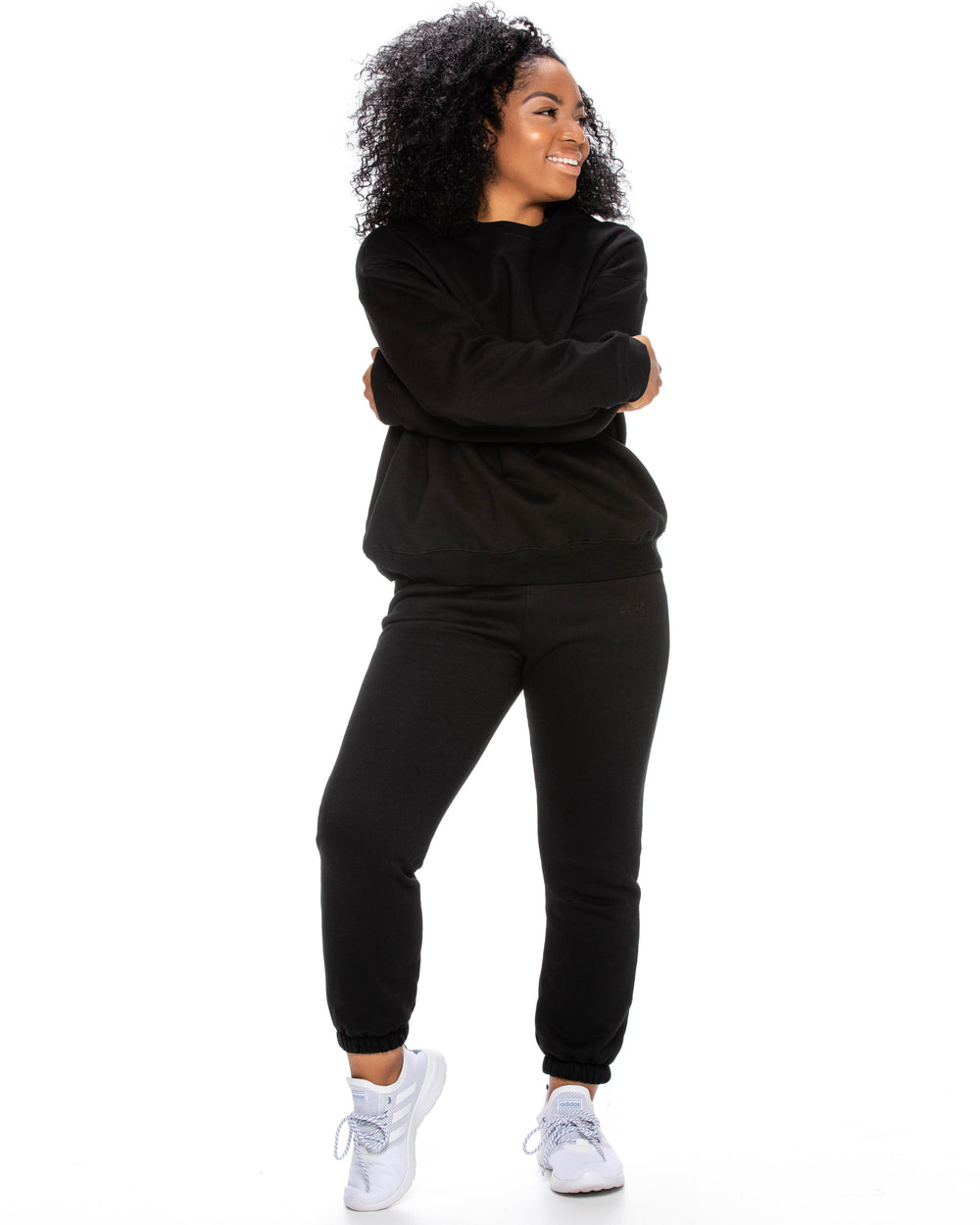 Oversized Sweats - Black