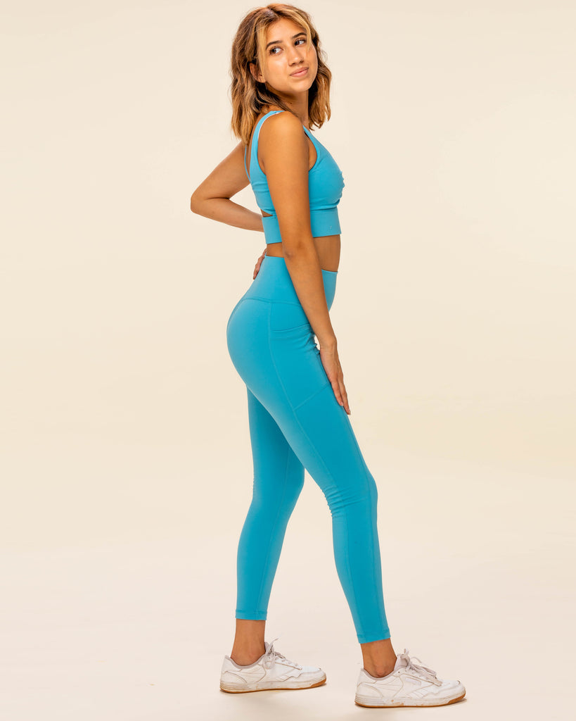 All Day Leggings - Marina