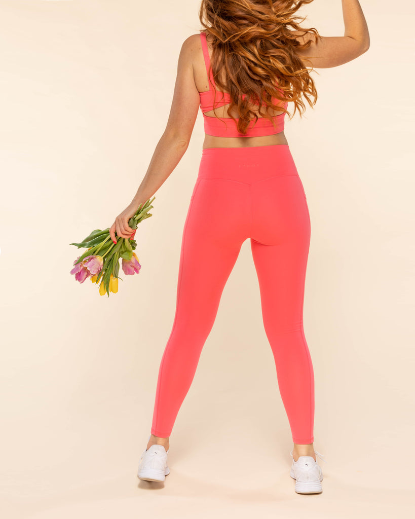 All Day Leggings - Coral