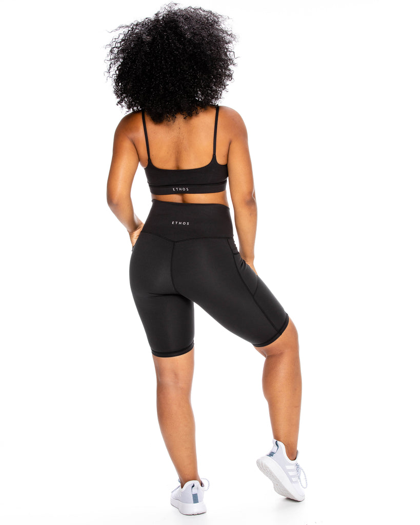 Back To Basics Sports Bra - Black