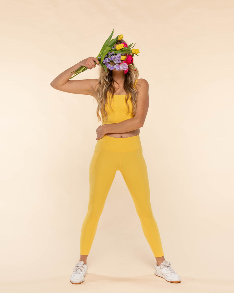 All Day Leggings - Buttercup