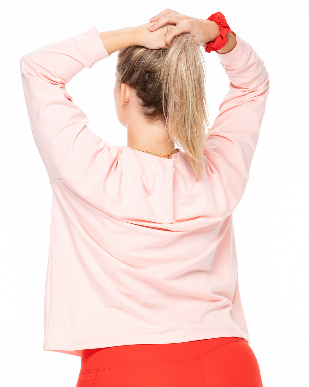 Boyfriend Long Sleeve - Blush