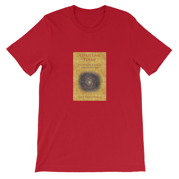 """Book of Christian Poetry"" Short-Sleeve Unisex T-Shirt"