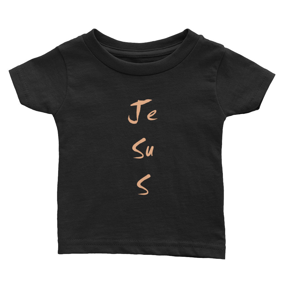 """Jesus Art"" Infant Tee 2Colors"